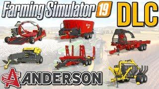 Maszyny Anderson - zawartość dodatku | Farming Simulator 19