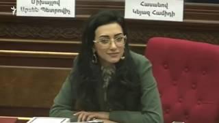 Էդուարդ Շարմազանովը, Արփինե Հովհաննիսյանը և Միքայել Մելքումյանը ընտրվել են ԱԺ նախագահի տեղակալներ