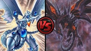 Dueling Network Blue Eyes Shining Dragons VS Red Eyes Darkness Dragon