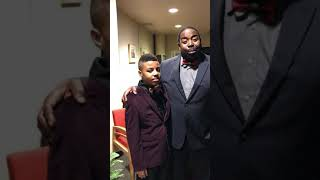 SIR DARIUS BROWN &WORLD LEADING MOTIVATIONAL SPEAKER LES BROWN