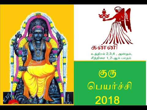 Guru peyarchi palangal 2017-2018 : Kanni Rasi : குரு பெயர்ச்சி பலன்கள்   2017-2018 : கன்னி ராசி