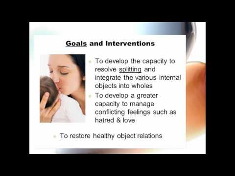 WN - object relations therapy