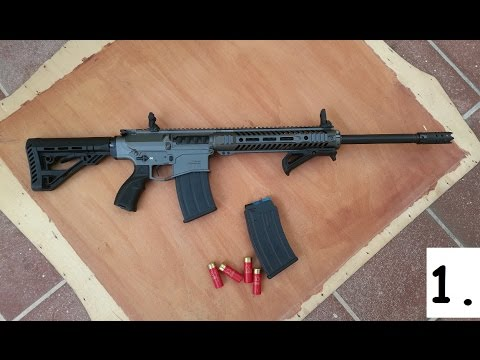 UTAS XTR-12 tactical shotgun by nataneraser