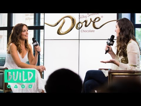 Minka Kelly Chats About DOVE Chocolate & Her Upcoming Projects