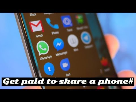Share The Number   Get Paid To Share A Phone Number