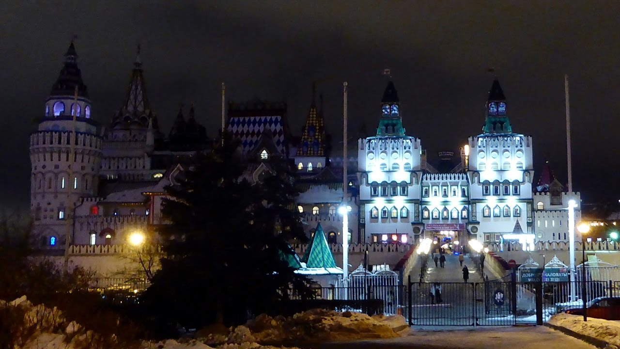 собой, измайловский кремль вечером фото самый
