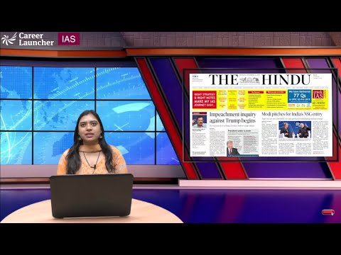UPSC DNH (Daily News Highlights) || The Hindu || 26.Sep.2019 || Career Launcher