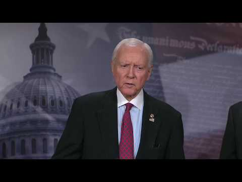 Tillis, Lankford, Hatch Address The Legal Status of Undocumented Children
