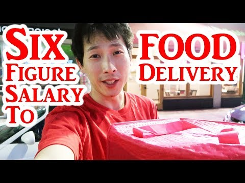 Six Figures Salary to Food Delivery