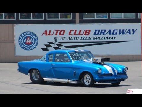 AAA Fontana Dragway - 53 Studebaker
