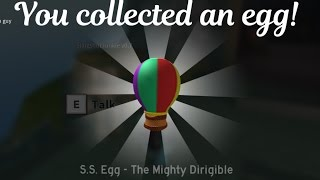 S.S. Egg - The Mighty Dirigible ROBLOX Egg Hunt 2017 Tutorial