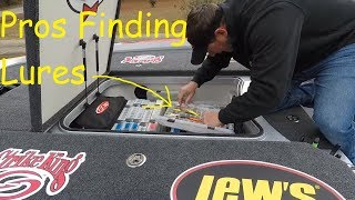 How fast can Professional Anglers find 5 Fishing Lures!!!, Greg Bohannan