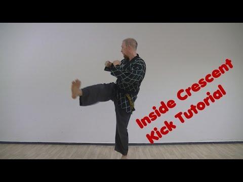 hapkido/taekwondo-inside-crescent-kick-tutorial---deutsch