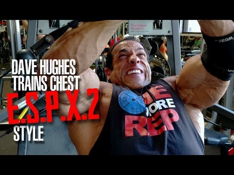 THE MAN WHO INSPIRED JAY CUTLER TO COMPETE IN CALIFORNIA- DAVE HUGHES TRAINS ESPX2 STYLE