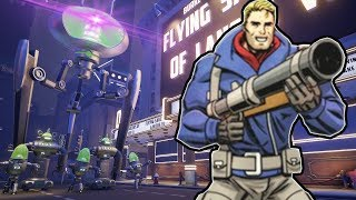 SAVING THE WORLD FROM AN ALIEN INVASION?! (Fortified Gameplay) Alien Survival Game!