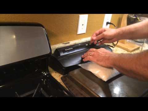 DIY Vacuum Sealer Bag Made From 4 Mil Plastic / Visqueen Easy!