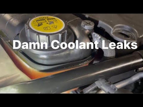 Jaguar F Type Coolant Expansion Tank Replacement DIY Guide
