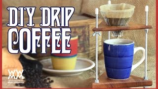 DIY Coffee Dripper. Brew Your Own Custom Coffee.