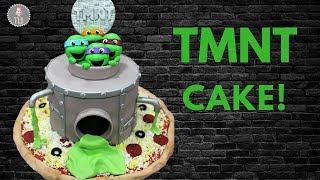 Teenage Mutant Ninja Turtle Cake Tutorial!