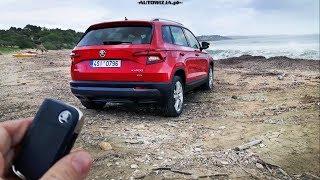 Skoda Karoq 2.0 TDI 150 hp 4x4 DSG TEST POV Drive & Walkaround ENGLISH SUBTITLES