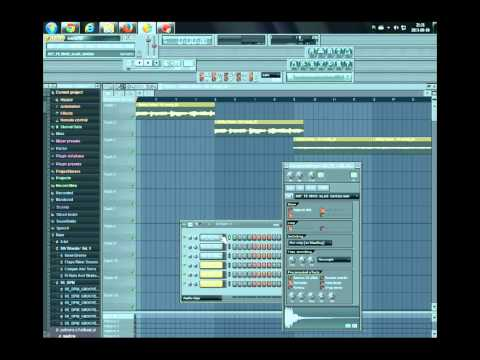 """How it's Made instrumentals - Akon """"lonely"""" video fl studio"""