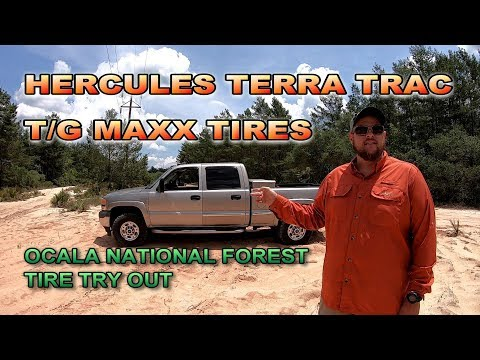 HERCULES TIRES, OCALA NATIONAL FOREST TIRE TRY OUT