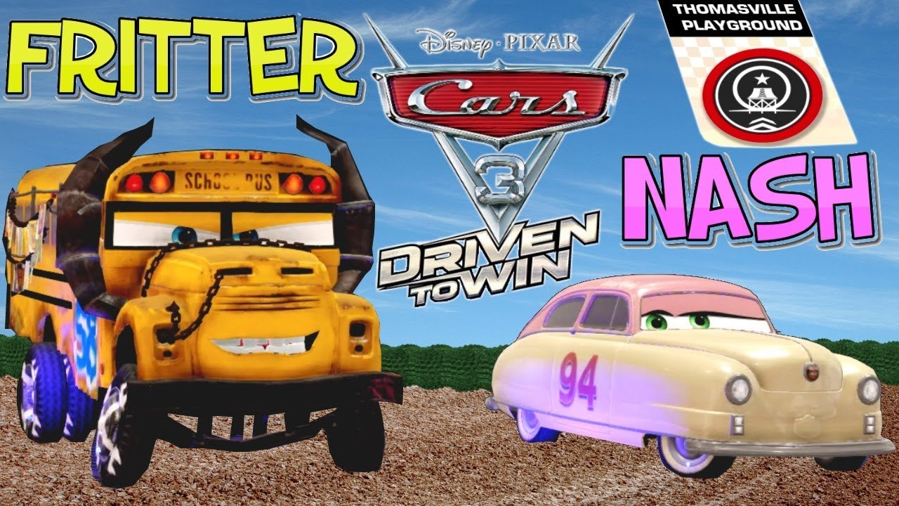 cars 3 driven to win miss fritter vs louse nash. Black Bedroom Furniture Sets. Home Design Ideas