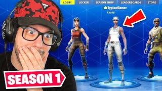 Playing Fortnite Season 1 in 2020! (Recon Expert is BACK)