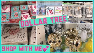 DOLLAR TREE SHOP WITH ME 2018! Valentines, Easter and New Items!!