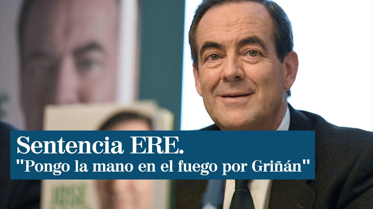 """José Bono """"pone la mano en el fuego"""" por José Antonio Griñán"""