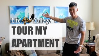 GUY'S APARTMENT ROOM TOUR - Life After College: Ep. 423 thumbnail