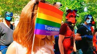 Парад в Германии Равные права для каждого Christopher Street Day 2019 CSD Hannover