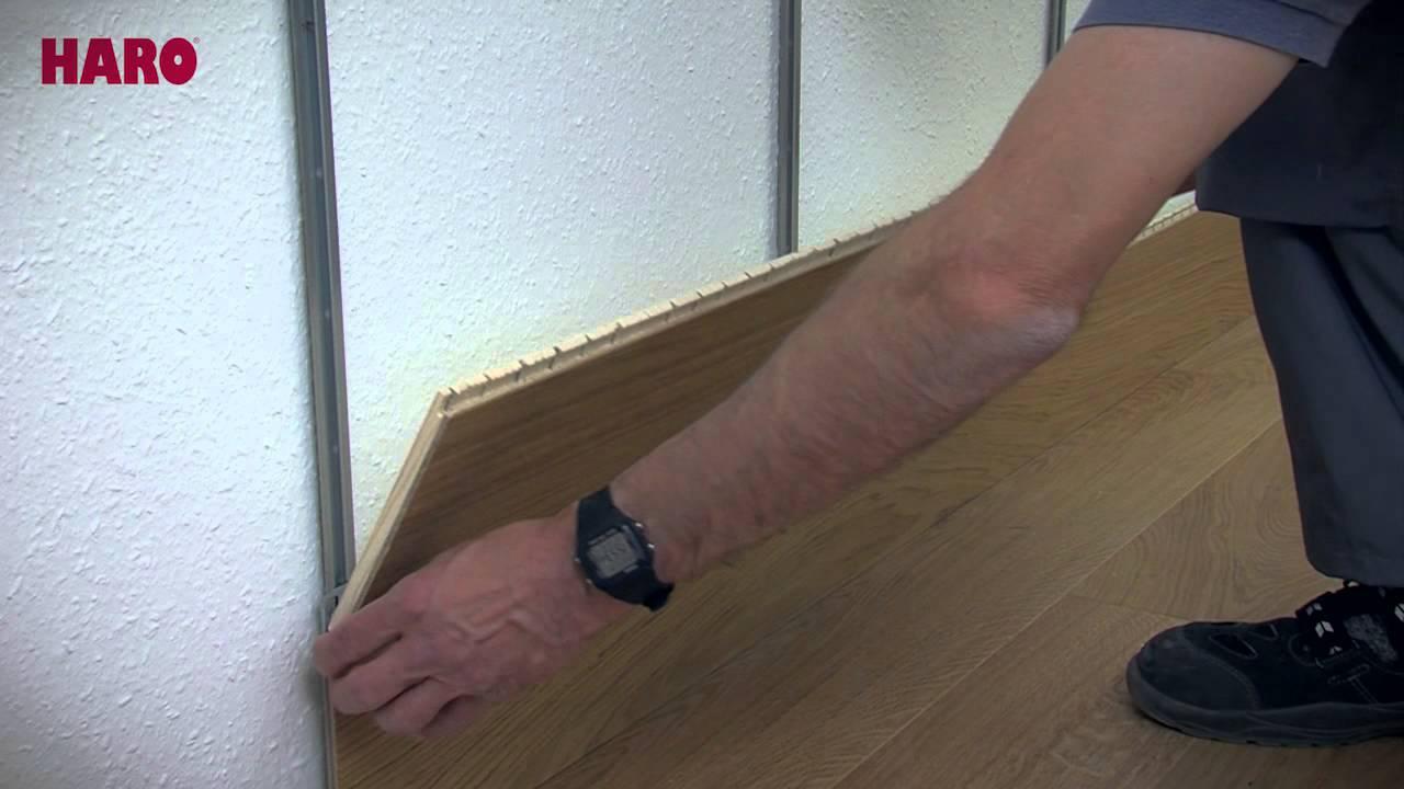 Faire Une Tete De Lit Avec Du Parquet Flottant instructions de pose « sol au mur » - parquet haro (français)