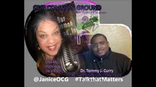 OUR COMMON GROUND with Dr  Tommy J  Curry - Critical Blackness in 2013