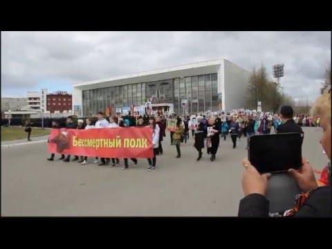 Видео — Оленегорск в строю. Бессмертный полк
