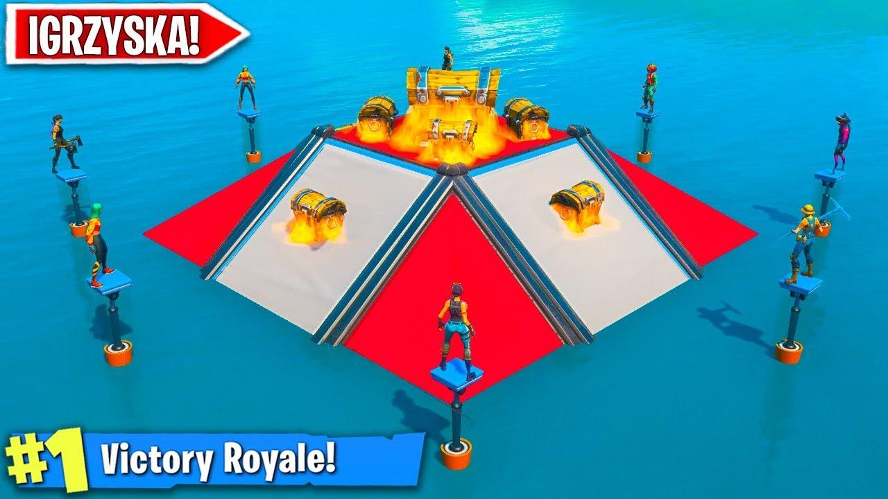 Gramy IGRZYSKA ŚMIERCI w FORTNITE! *NOWY* Tryb w Fortnite Battle Royale