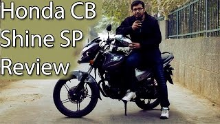 Honda CB Shine SP 125 Review With Test Ride Report