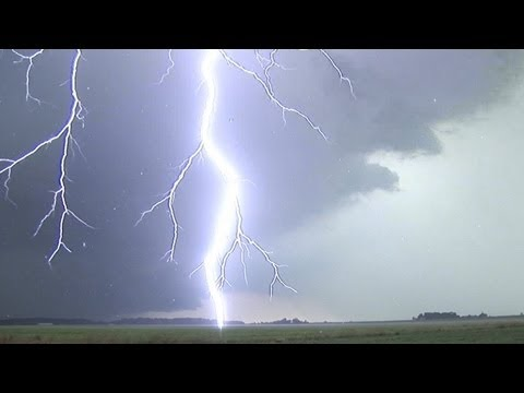 extreme close lightning in hd compilation loud thunder youtube