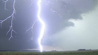 EXTREME Close Lightning In HD Compilation Loud Thunder