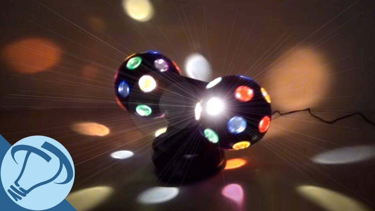 4 Quot Multi Directional Twin Disco Ball From Creative Motion