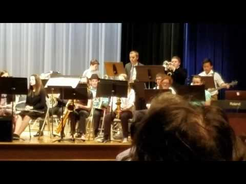 Maiden High School jazz concert