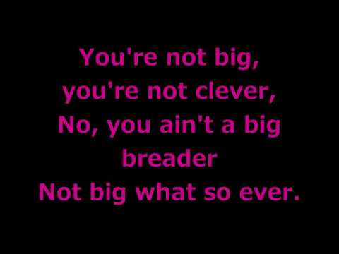 Lilly Allen - Not Big