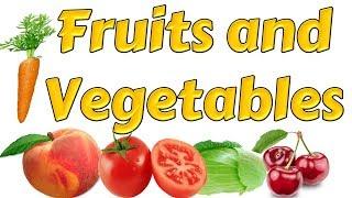 İngilizce Meyve Ve Sebzeler - Fruits And Vegatables - İngilizce Kelimeler