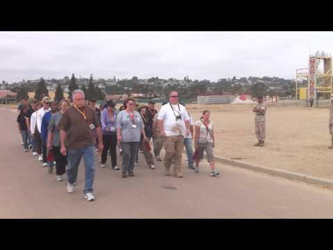 Educators learn to drill like Marines