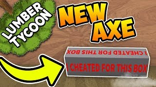 NEW GLITCHED AXE!! | Lumber Tycoon 2 ROBLOX
