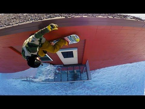 Dan Brisse Urban Snowboarding