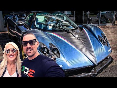 SUPERCAR BLONDIE AND PAGANI ZONDA CAUSE CHAOS AT CARS & CHRONOS!