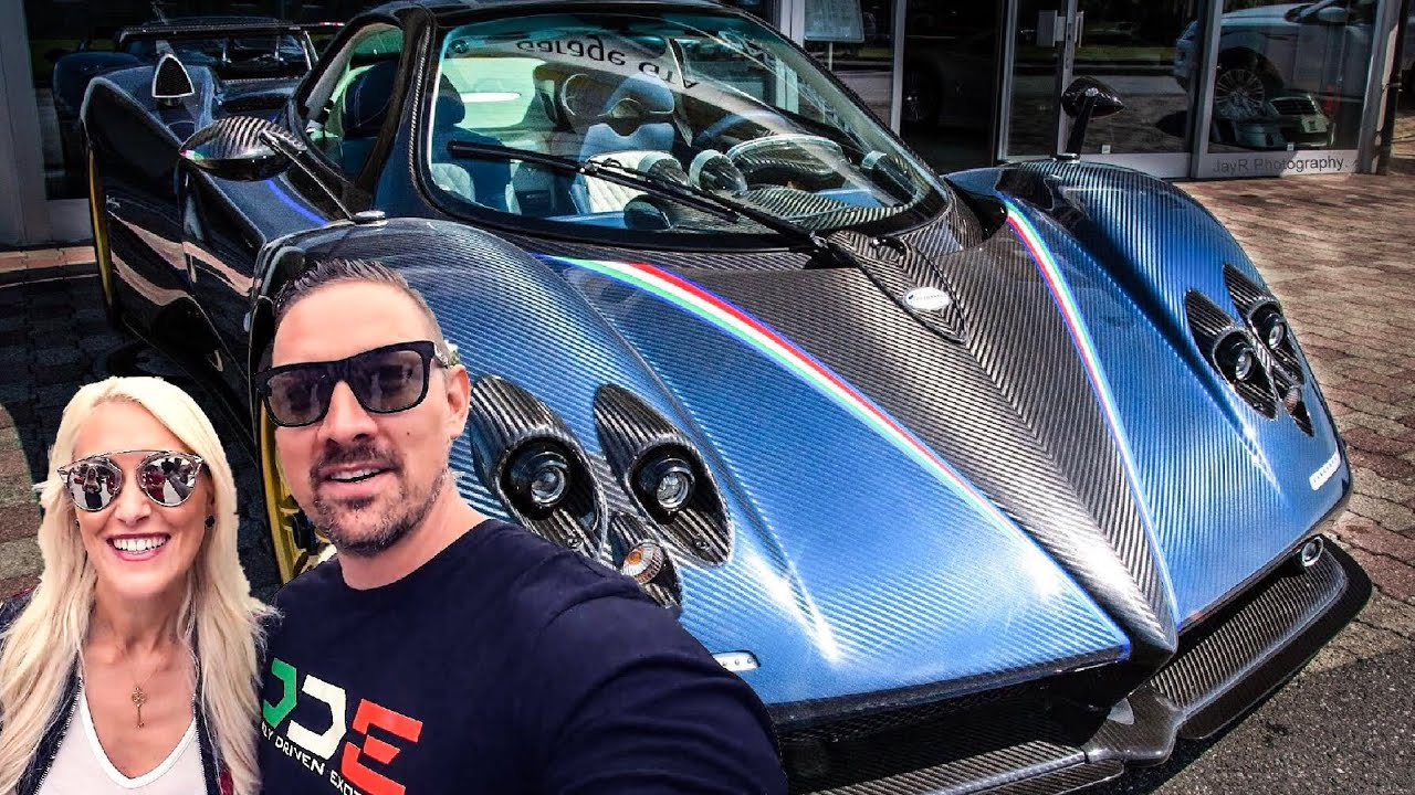 SUPERCAR BLONDIE AND PAGANI ZONDA CAUSE CHAOS AT CARS & CHRONOS!