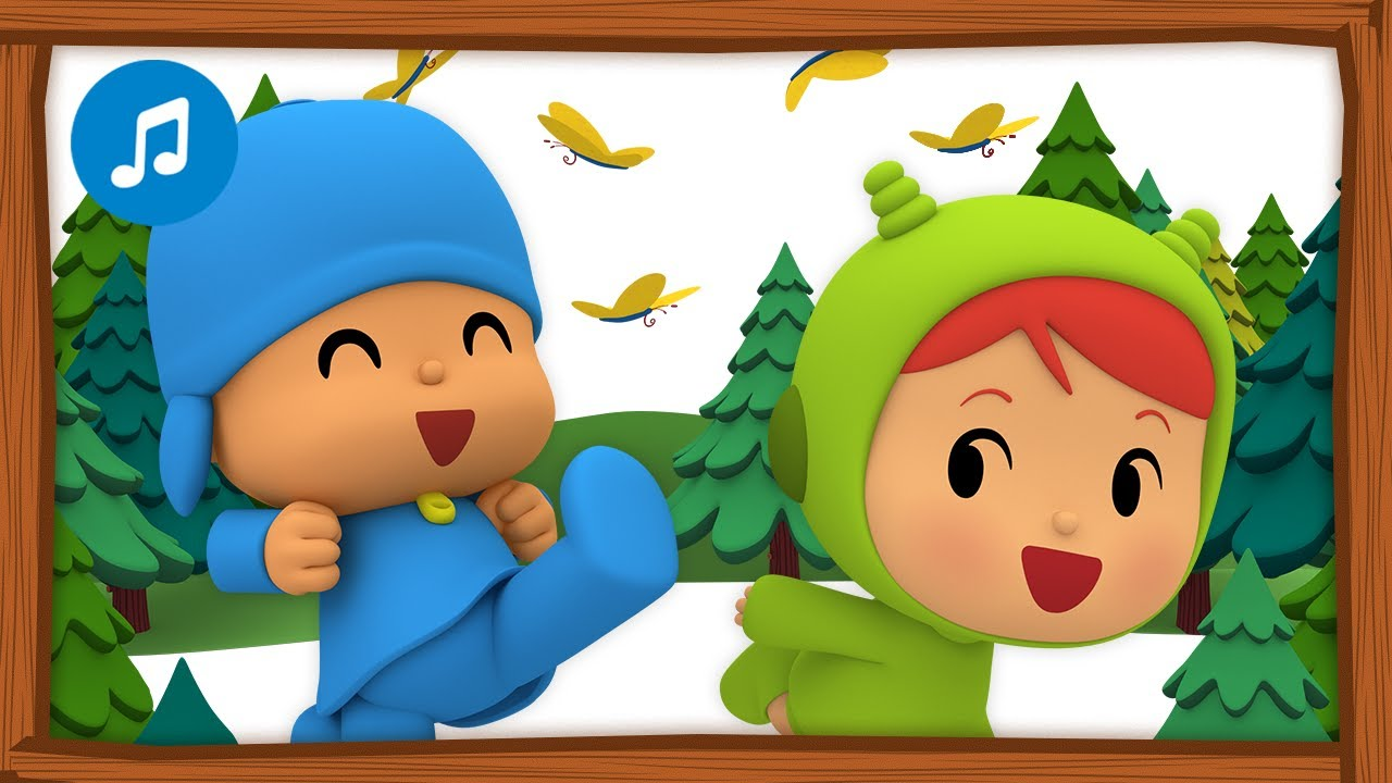 🌲🎶CANCIONES INFANTILES de POCOYÓ - Juguemos en el bosque | Caricaturas y dibujos animados