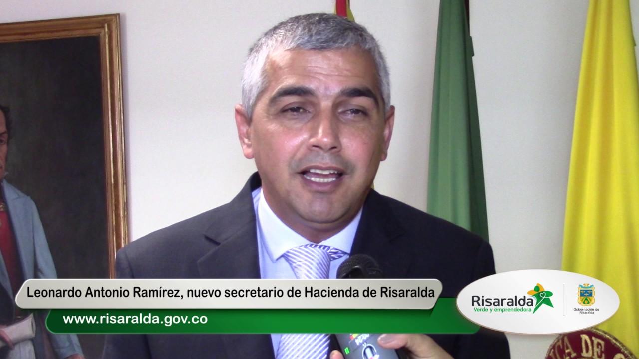 Nuevo Secretario de Hacienda de Risaralda 22 mayo de 2017 - YouTube